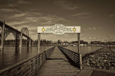 Photograph - Fishing Pier by Thom Zehrfeld