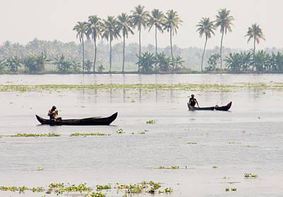 Kerala Photograph - Fishing by Steven Wares
