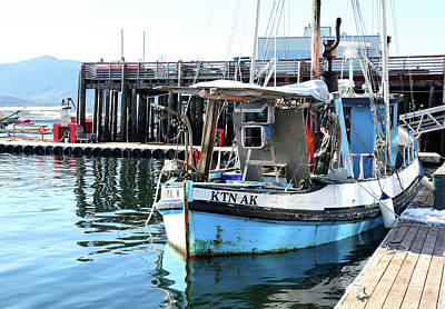 Photograph - Fishing Trawler, Alaska by Images Unlimited