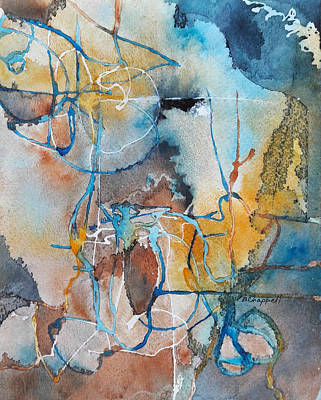 Painting - Fissures by Becky Chappell
