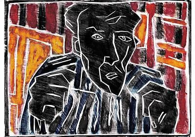 Relief - Fists Portrait 2 by Artist Dot