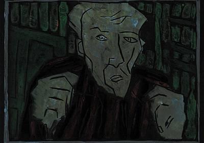 Relief - Fists Portrait 6 by Artist Dot