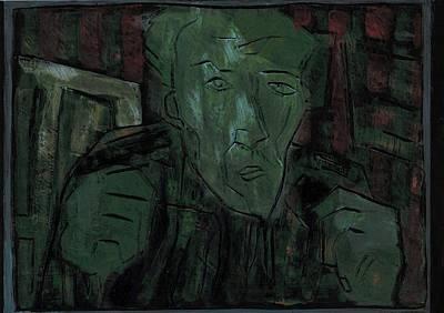 Relief - Fists Portrait 7 by Artist Dot