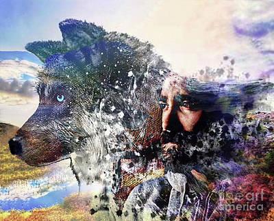 Digital Art - Fitz Farseer by Kathy Kelly