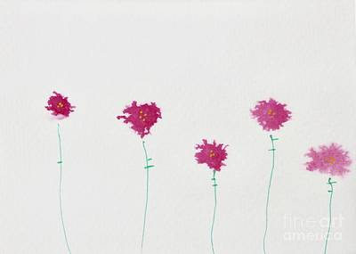 Painting - Five In A Row by Kim Nelson