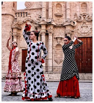 Photograph - Flamenco De Tres by Jeffrey PERKINS