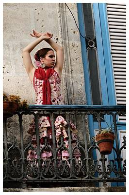 Photograph - Flamenco Pose by Jeffrey PERKINS
