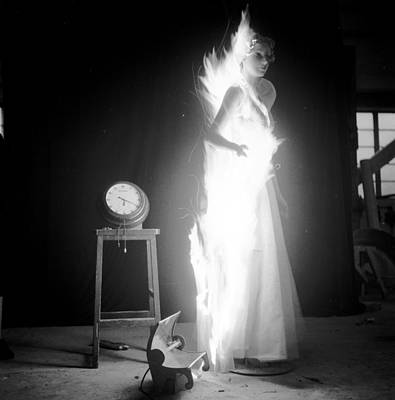 Photograph - Flaming Clothes by John Chillingworth