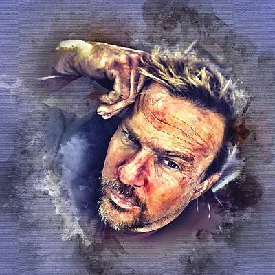 Photograph - Flanery Watercolor by Rachel Maytum