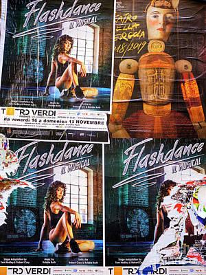 Photograph - Flashdance Il Musical Firenze by John Rizzuto