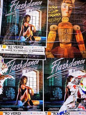 Photograph - Flashdance Il Musical In Firenze by John Rizzuto