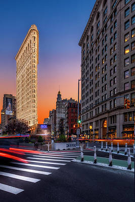 Photograph - Flatiron Building 5th Ave Nyc by Susan Candelario