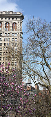 Photograph - Flatiron Building New York 11 by Andrew Fare