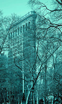 Photograph - Flatiron Building New York 9 by Andrew Fare