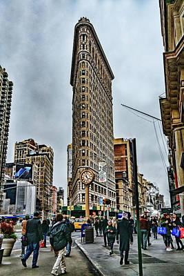 Photograph - Flatiron Building by Sharon Popek