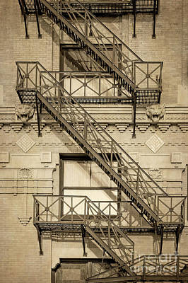 Photograph - Flatiron Fire Escape   by Imagery by Charly