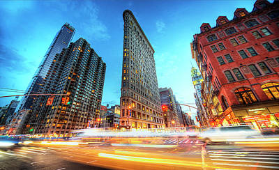 Cityscapes Photograph - Flatiron by Tony Shi Photography