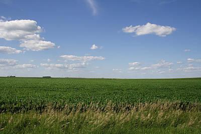 Photograph - Flatland Fields by Dylan Punke