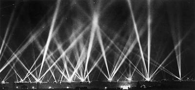 Photograph - Fleet Lit Up by Hulton Archive