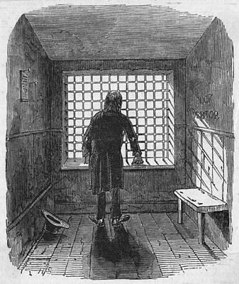 Fleet Prison Art Print by Hulton Archive