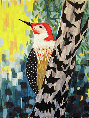 Wall Art - Painting - Flicker by Kaley Alie