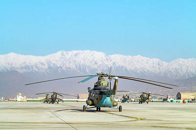 Photograph - Flight Line by SR Green