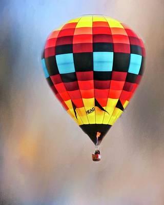 Photograph - Flight Of Fantasy, Hot Air Balloon by Flying Z Photography by Zayne Diamond