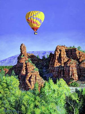 Flight Over Thumb Rock Original