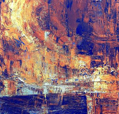 Painting - Flinders Ancient Cave by VIVA Anderson