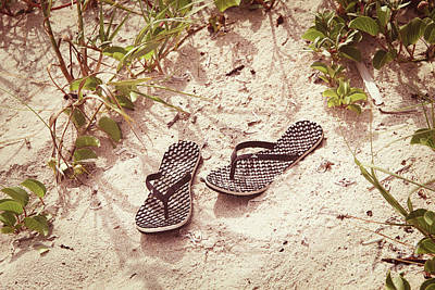 Photograph - Flip-flop Dreams 3 by Jackie Mestrom
