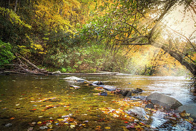 Photograph - Floating Downstream by Debra and Dave Vanderlaan