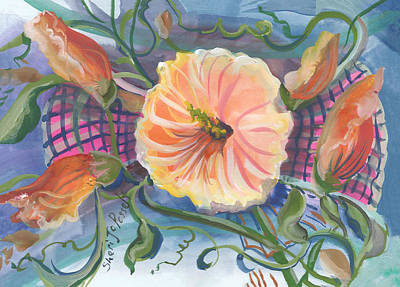 Painting - Floral Inspiration by Sheri Jo Posselt