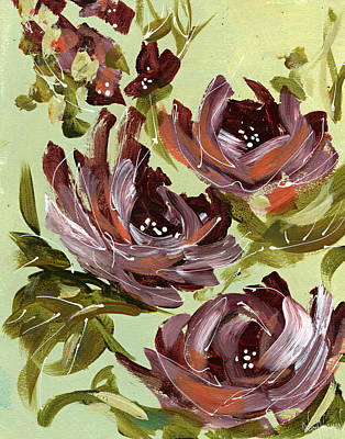 Painting - Floral  by Nikol Wikman