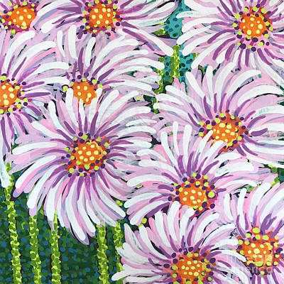 Painting - Floral Whimsy 1 by Amy E Fraser