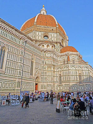 Photograph - Florence Cathedral by Phil Banks