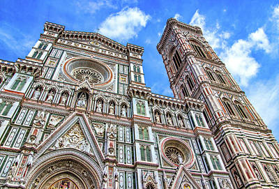 Photograph - Florence Duomo And Campanile by Carolyn Derstine