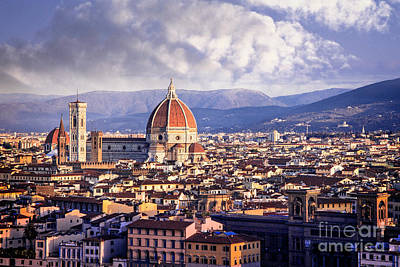 Photograph - Florence Rises by Scott Kemper