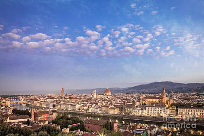 Photograph - Florence Skyline by Scott Kemper