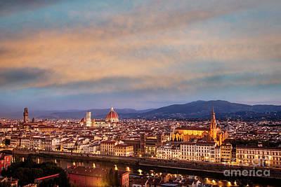 Photograph - Florence Sunrise by Scott Kemper