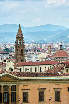 Photograph - Florentine Cityscape by Fine Art Photography Prints By Eduardo Accorinti