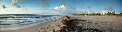 Us State Photograph - Florida Beach With Gentle Waves And by Drnadig