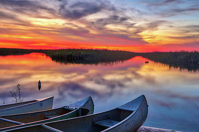 Photograph - Florida Canoeing Outdoors Adventure by Juergen Roth