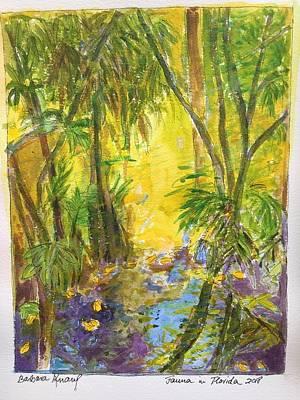 Painting - Florida Fauna by Barbara Anna Knauf