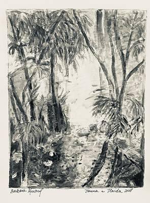 Drawing - Florida Fauna 2 by Barbara Anna Knauf