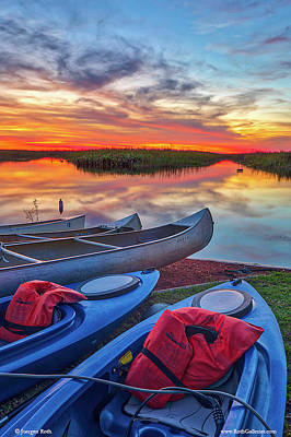 Photograph - Florida Kayaking Outdoors Adventure by Juergen Roth