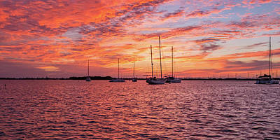 Photograph - Florida Keys Sunset by Mark Duehmig
