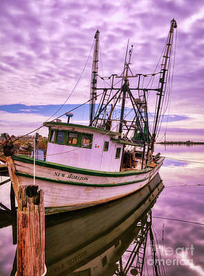 Photograph - Florida Panhandle Fishing Boat by Mel Steinhauer