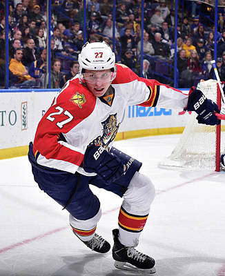 Photograph - Florida Panthers V St. Louis Blues by Scott Rovak