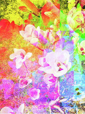 Wall Art - Digital Art - Flower 1918 by Ron Labryzz