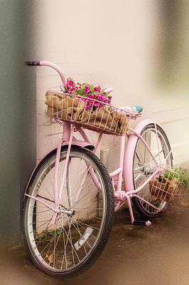 Photograph - Flower Bike by Bets Wilson